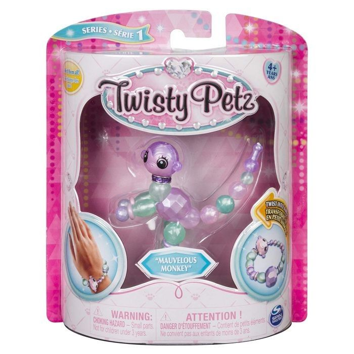 Twisty Petz Bratara Animalut Pentru Colectionat Maimutica Mauvelous