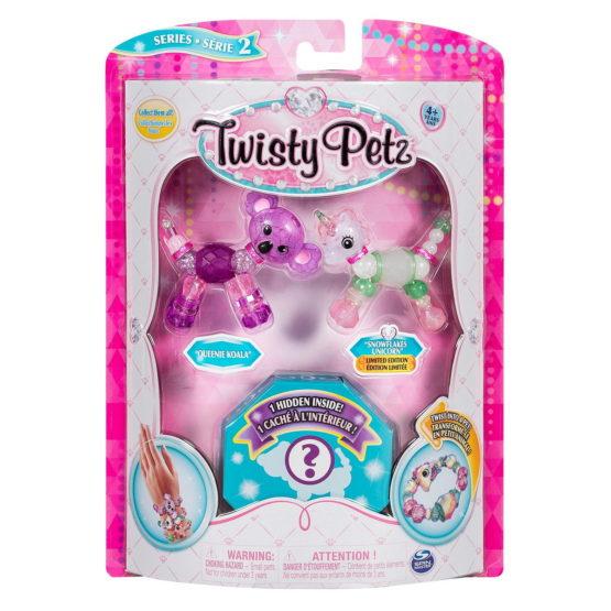 Twisty Petz Set 3 Bratari Animalute Koala Unicorn Si Surpriza