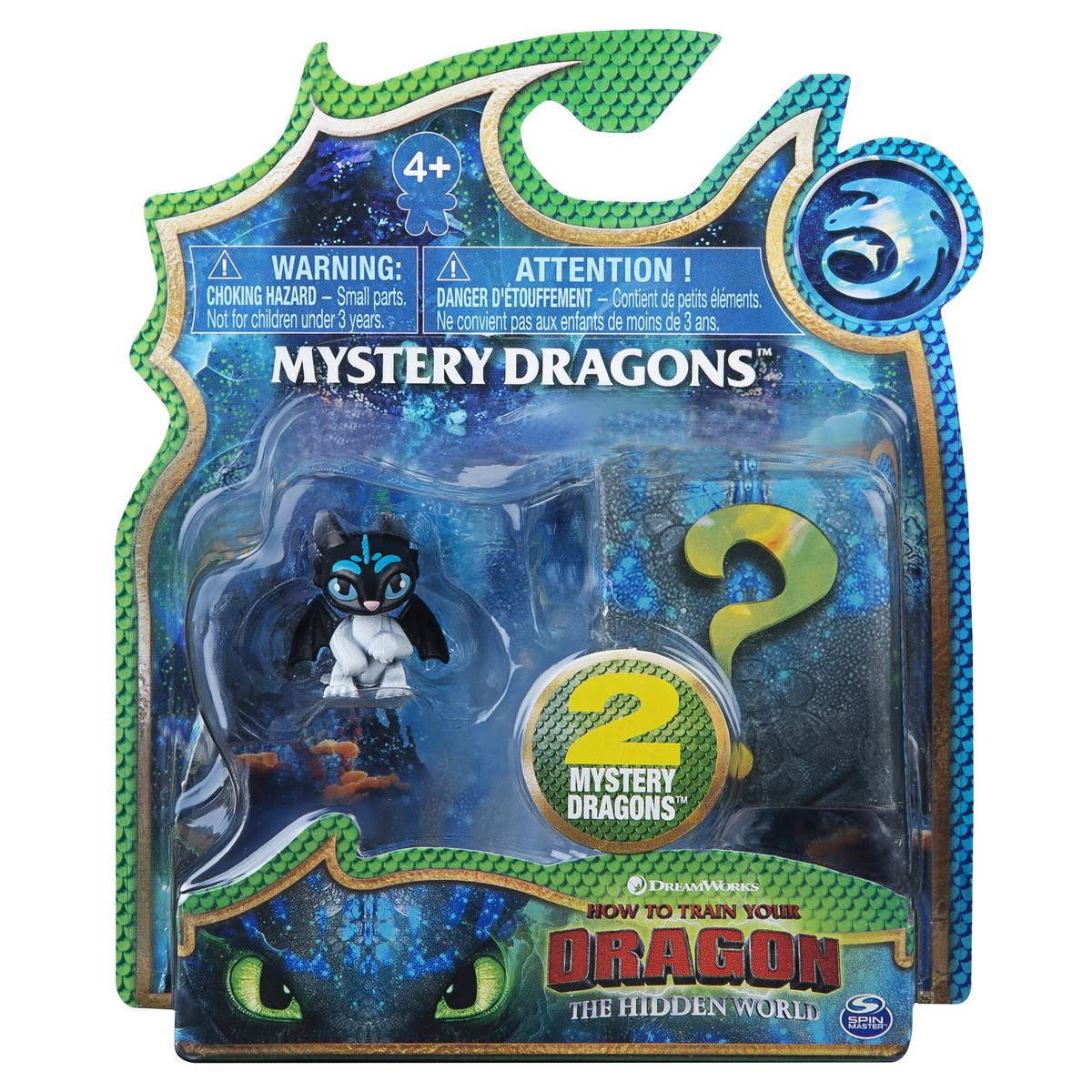 Set 2 Dragoni In Pachet Stirbul Si Surpriza