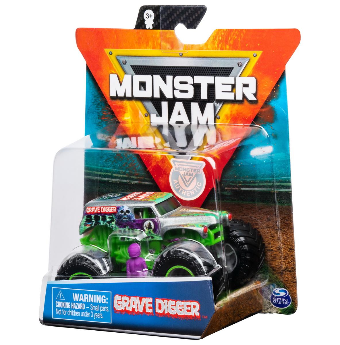 Monster Jam Metalica Groparul Scara 1 La 64