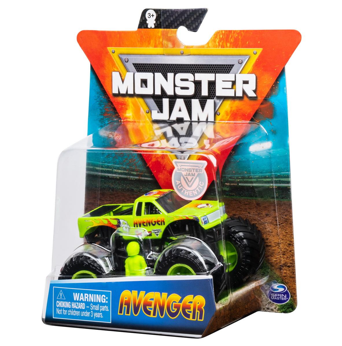 Monster Jam Metalica Avenger Scara 1 La 64