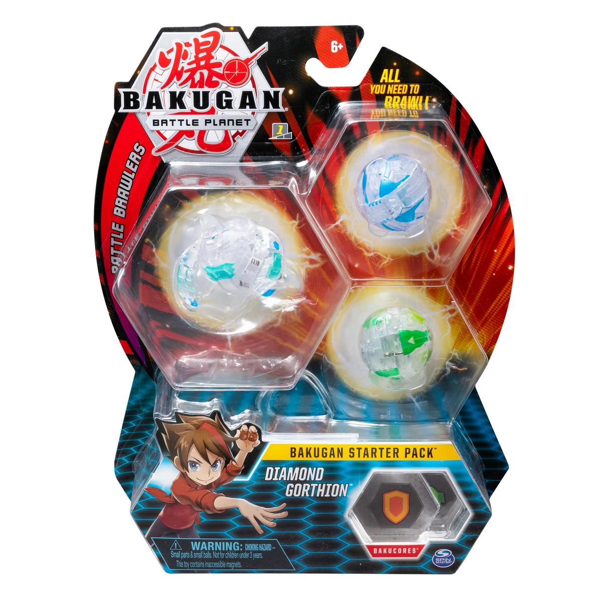 Bakugan Pachet Start Diamond Gorthion