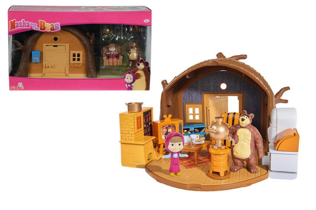 Masha Playset Casa Ursului
