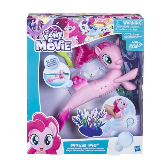 Poneiul Pinkie Pie Care Inoata Cu Baterii