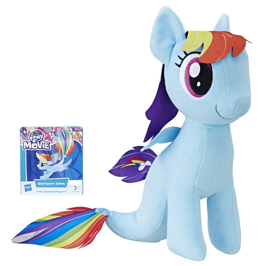 Mlp Soft Plus 25cm Rainbow Dash Cu Codita De Sirena