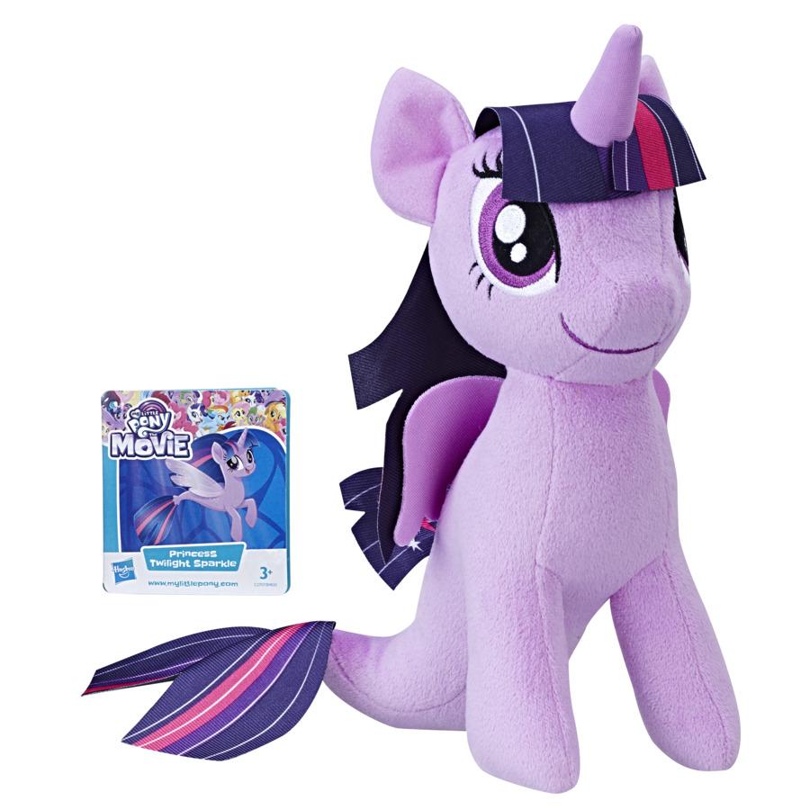 Mlp Soft Plus 25cm Twilight Sparkle Cu Codita De Sirena