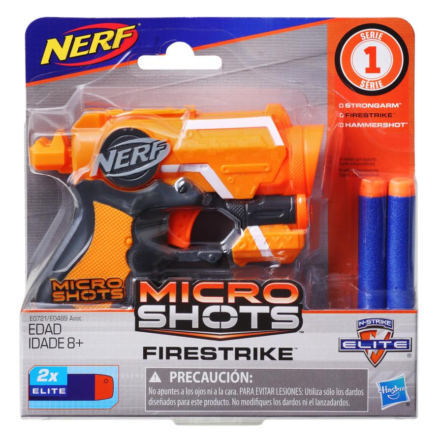 Nerf Blaster Microshots Firestrike