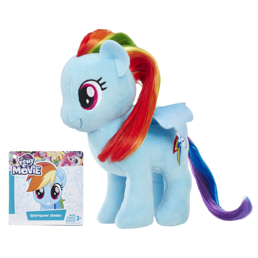 Mlp Rainbow Dash Ponei Din Plus Cu Par Pentru A Fi Pieptanat