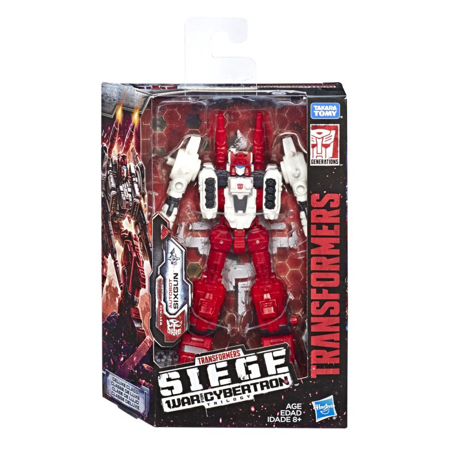 Transformers Robot Deluxe Autobot Sixgun