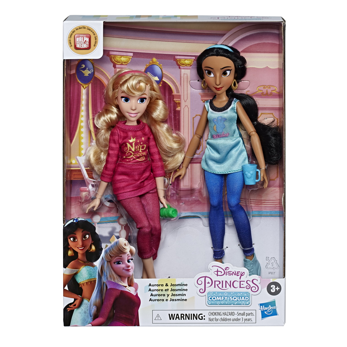 Set Disney Papusi Printese Aurora Si Jasmin