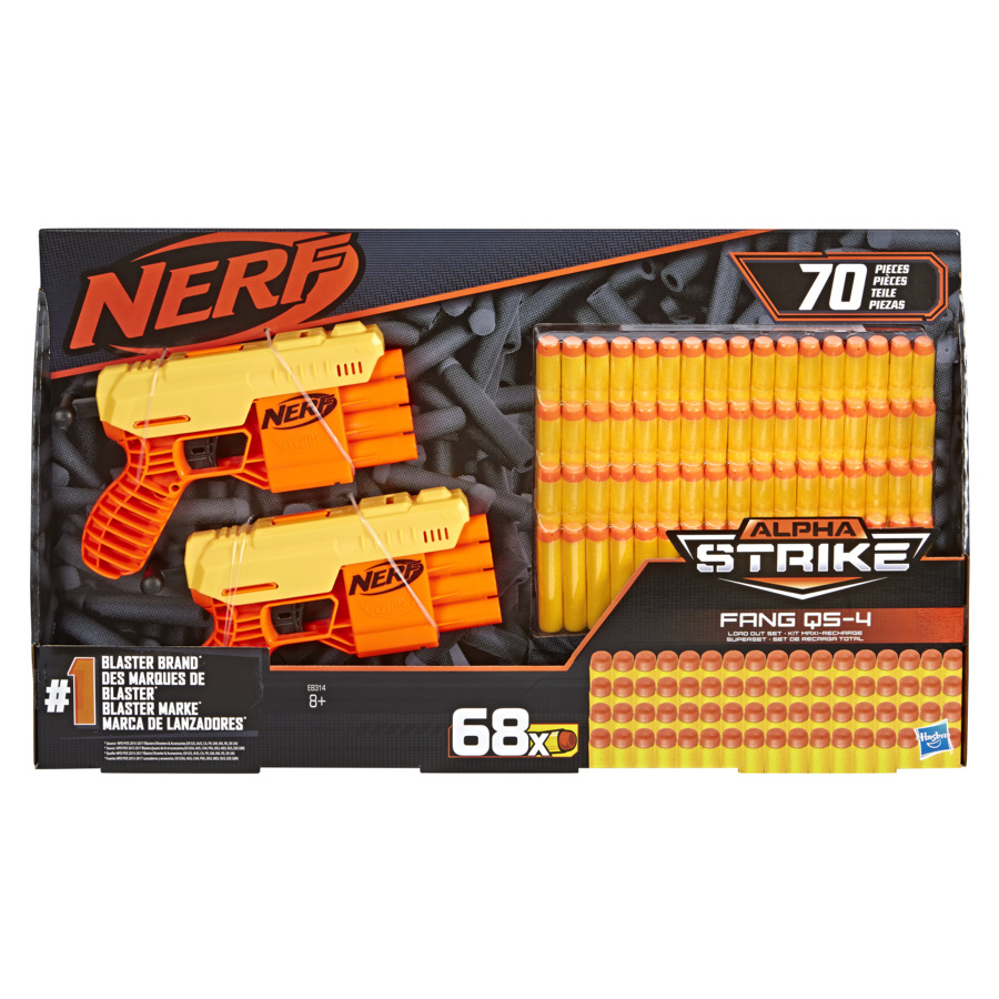 Blastere Nerf Alpha Strike Fang Qs4 Cu 68 De Munitii