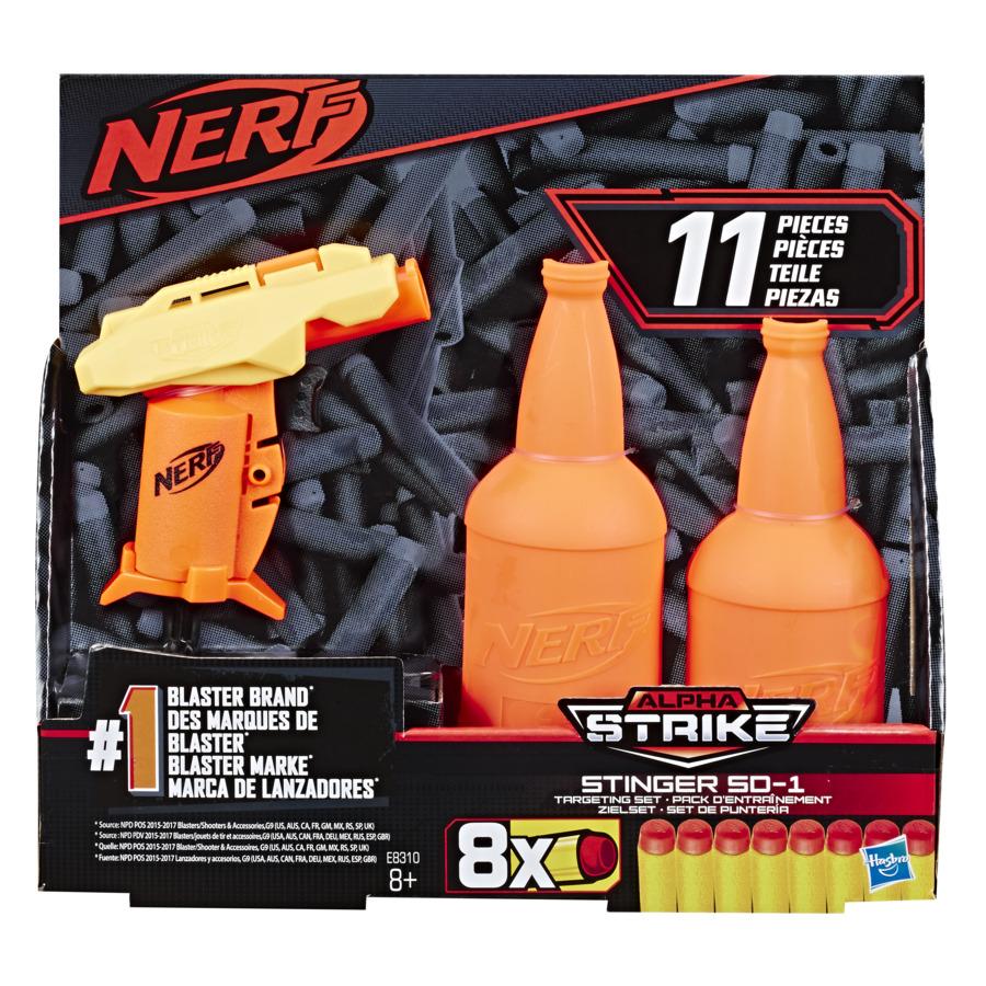 Blaster Nerf Alpha Strike Stinger Sd1 Cu Tinta