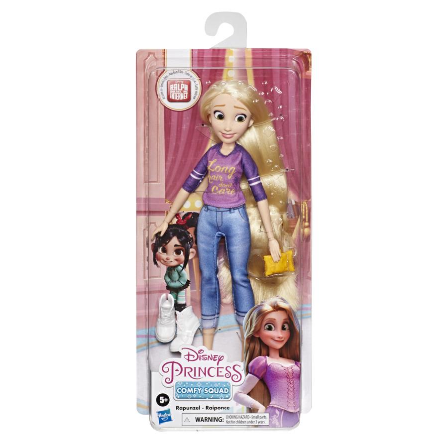 Papusa Printesa Rapunzel Colectia Comfy Squad