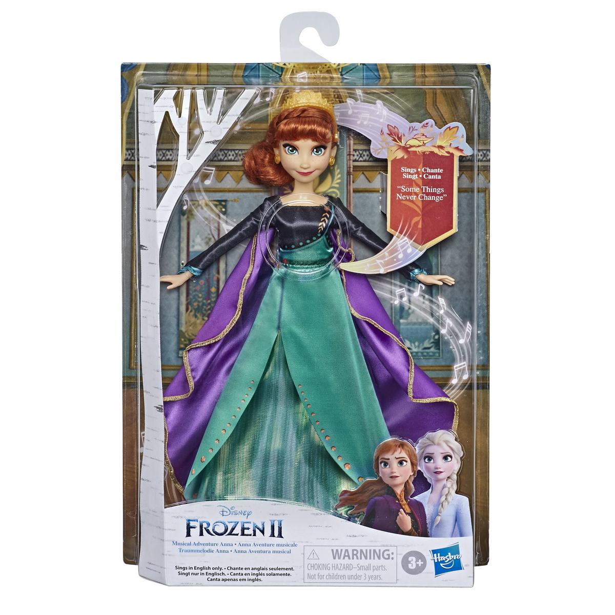 Papusa Frozen2 Anna Musical Adventure