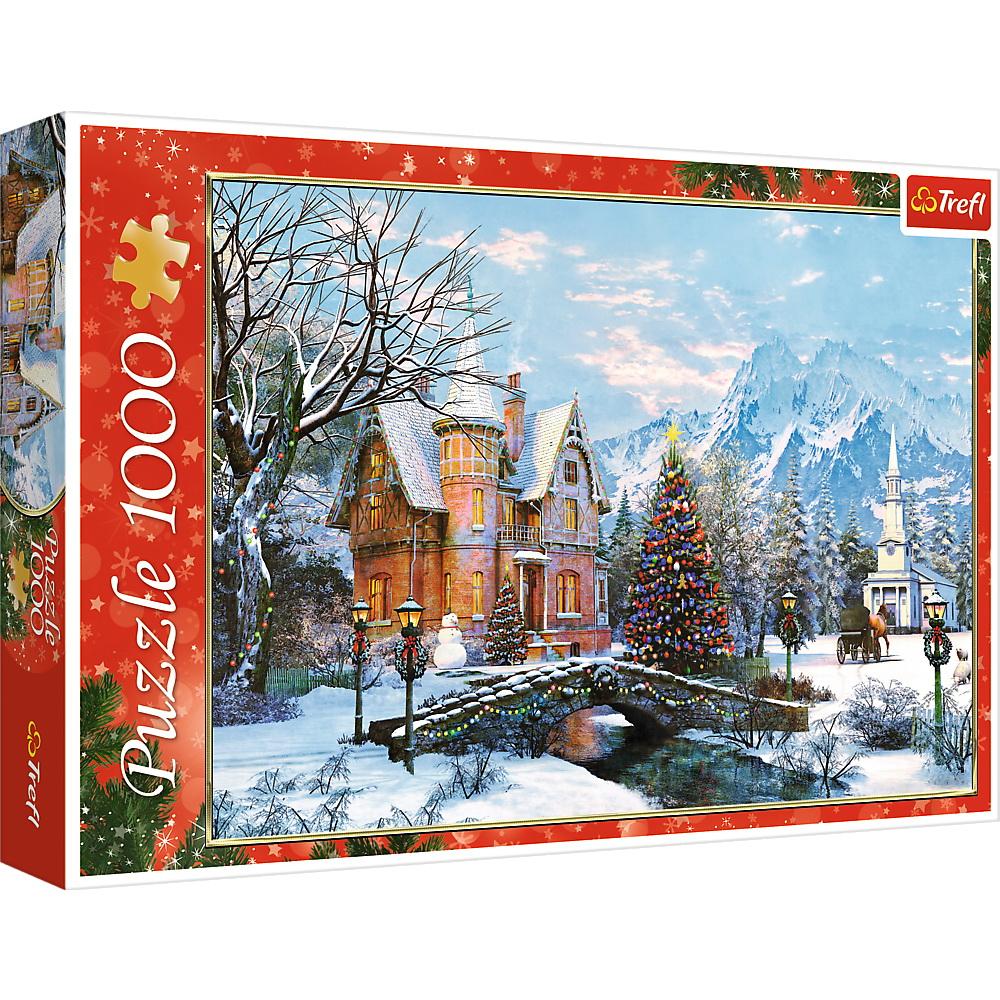 Puzzle Trefl 1000 Peisaj De Iarna