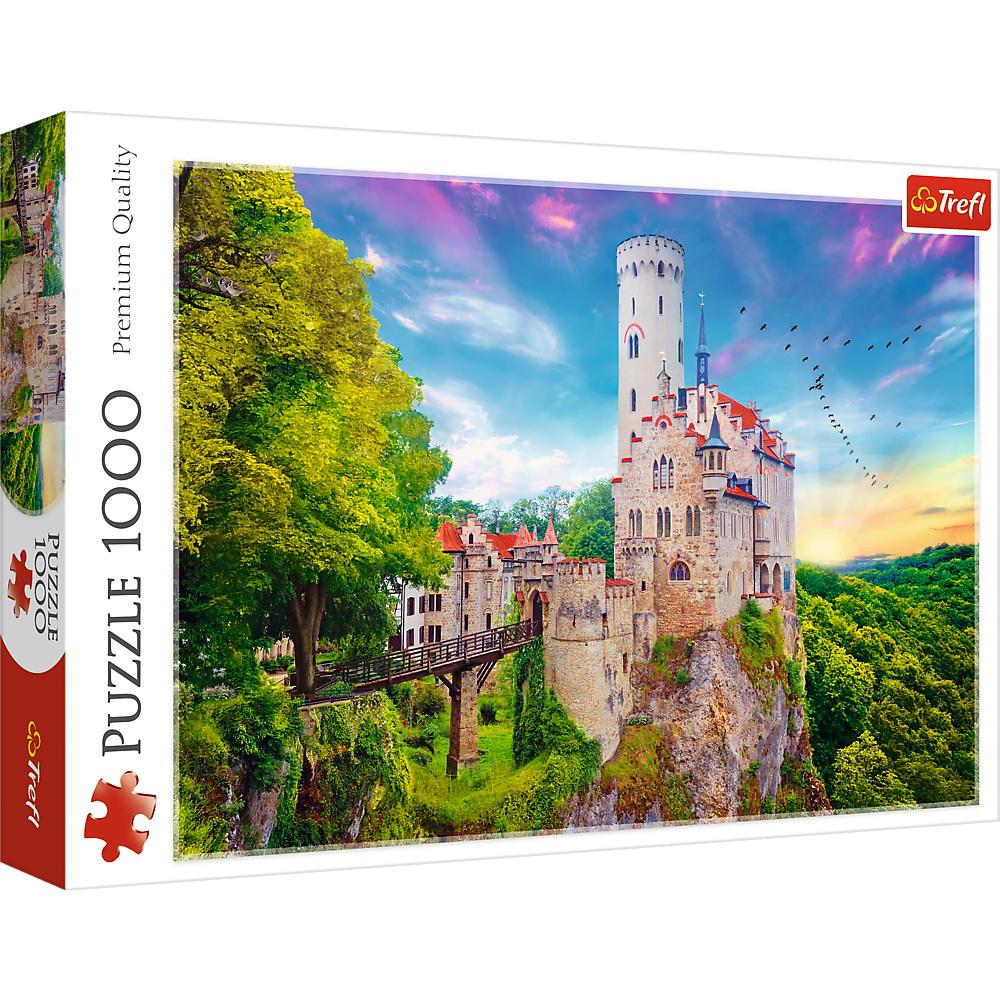 Puzzle Trefl 1000 Castelul Liechtenstein