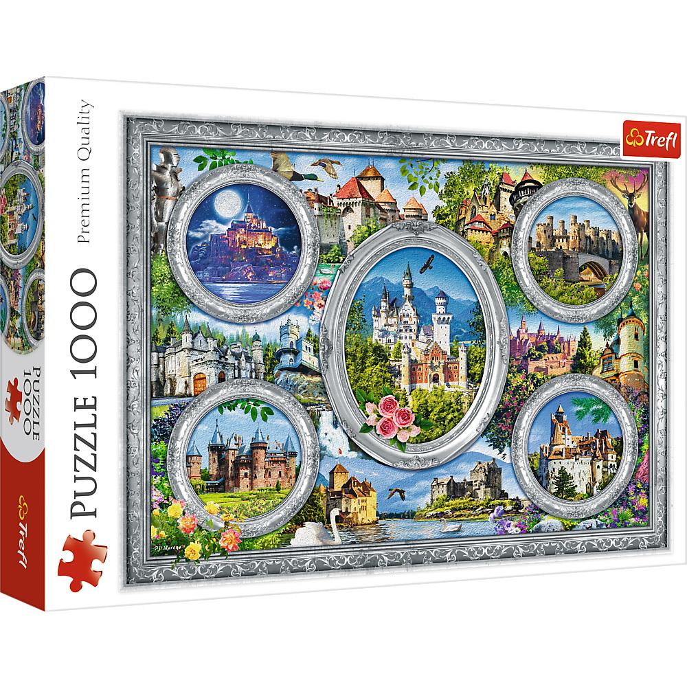 Puzzle Trefl 1000 Castele Celebre