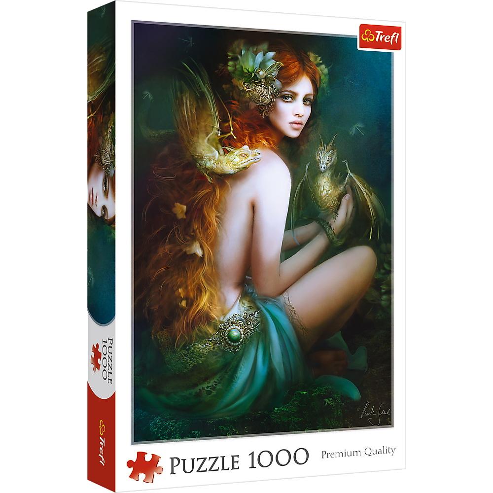 Puzzle Trefl 1000 Prietena Cu Dragonii