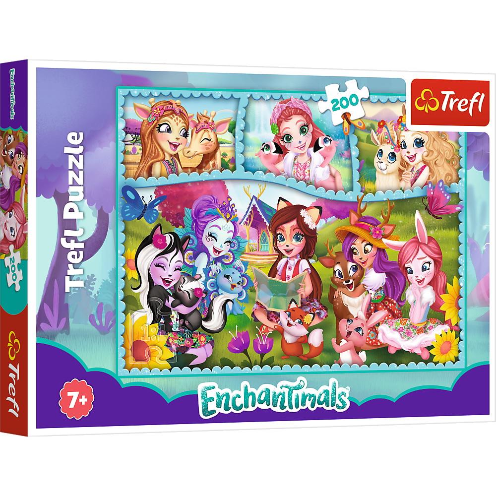 Puzzle Trefl 200 Enchantimals Prieteni Extraordinari
