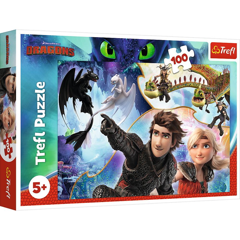 Puzzle Trefl 100 Pe Tarmul Dragonilor