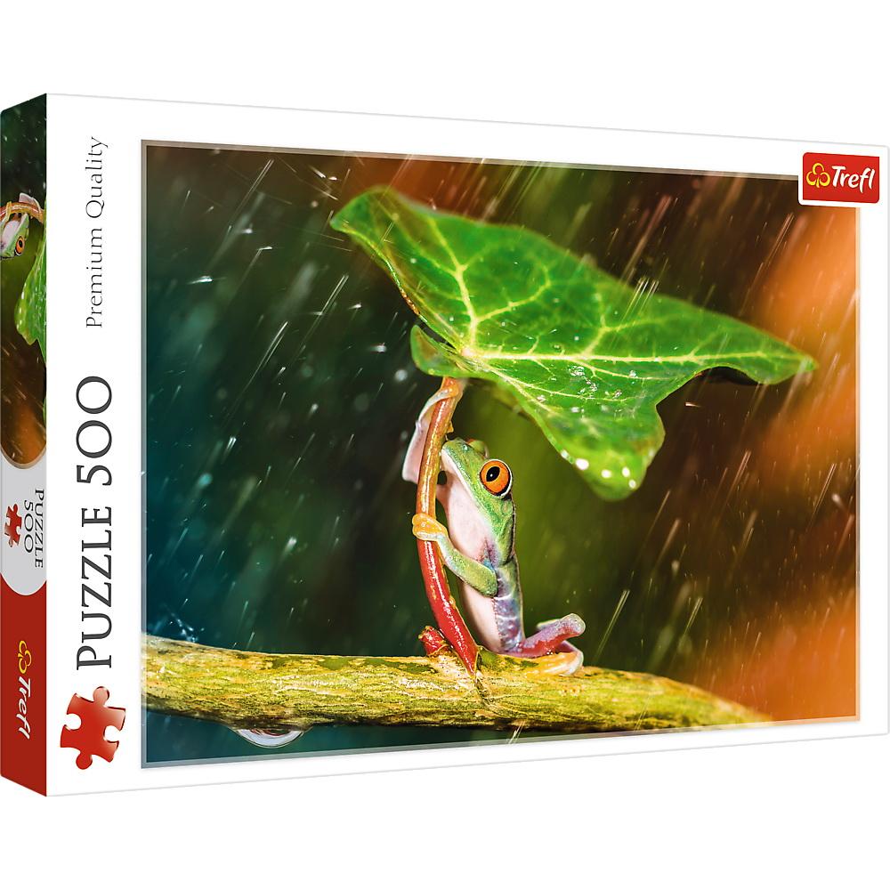 Puzzle Trefl 500 Umbrela Verde