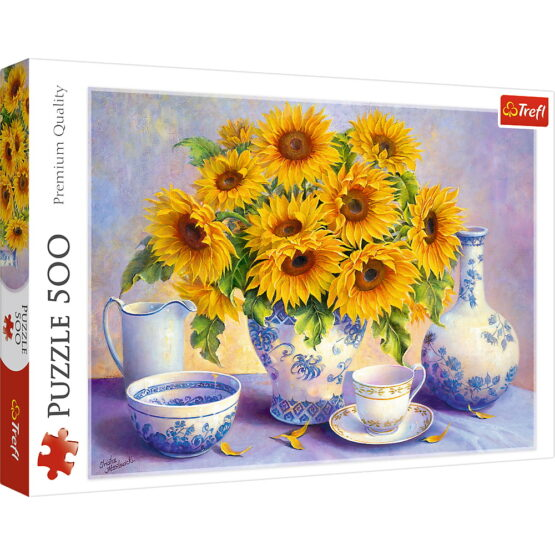 Puzzle Trefl 500 Floarea Soarelui