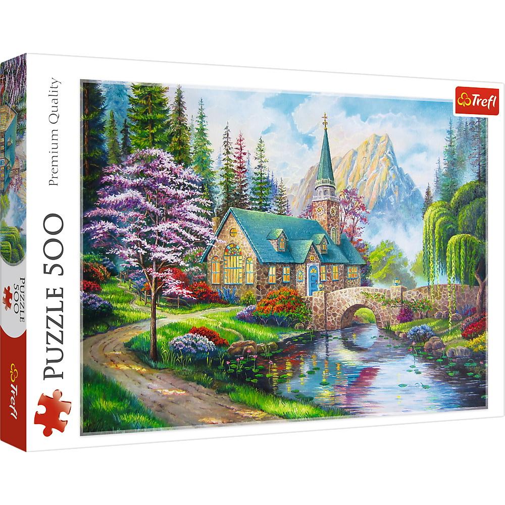 Puzzle Trefl 500 Peisaj Mirific