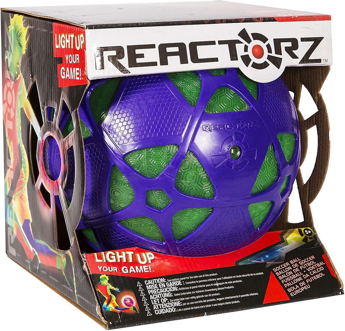 Minge Fotbal Reactorz Cu Lumina Reactiva Marimea 4