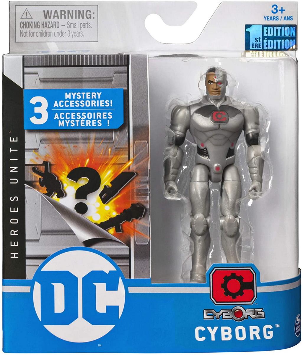 Figurina Cyborg 10cm Flexibila Si Cu Accesorii