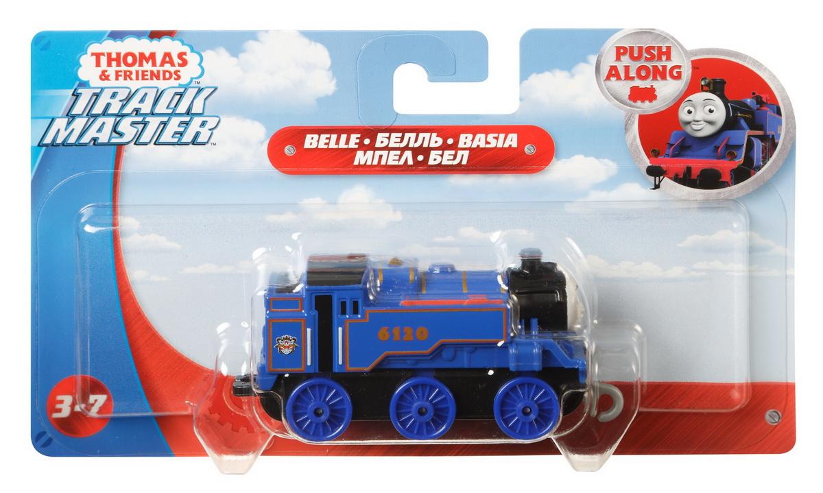 Thomas Locomotiva Cu Vagon Push Along Belle