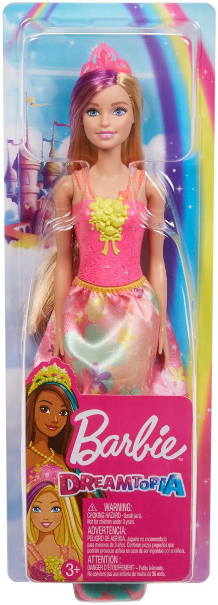 Barbie Papusa Printesa Dreamtopia Cu Coronita Roz