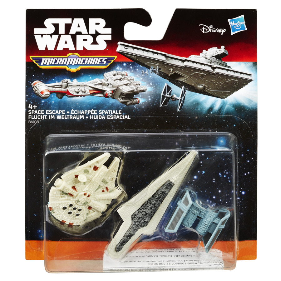 Set 3 Figurine Micromachines Episodul Vii Space Escape