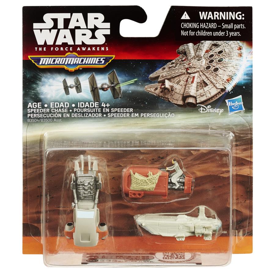 Set 3 Figurine Micromachines Episodul Vii Speeder Chase