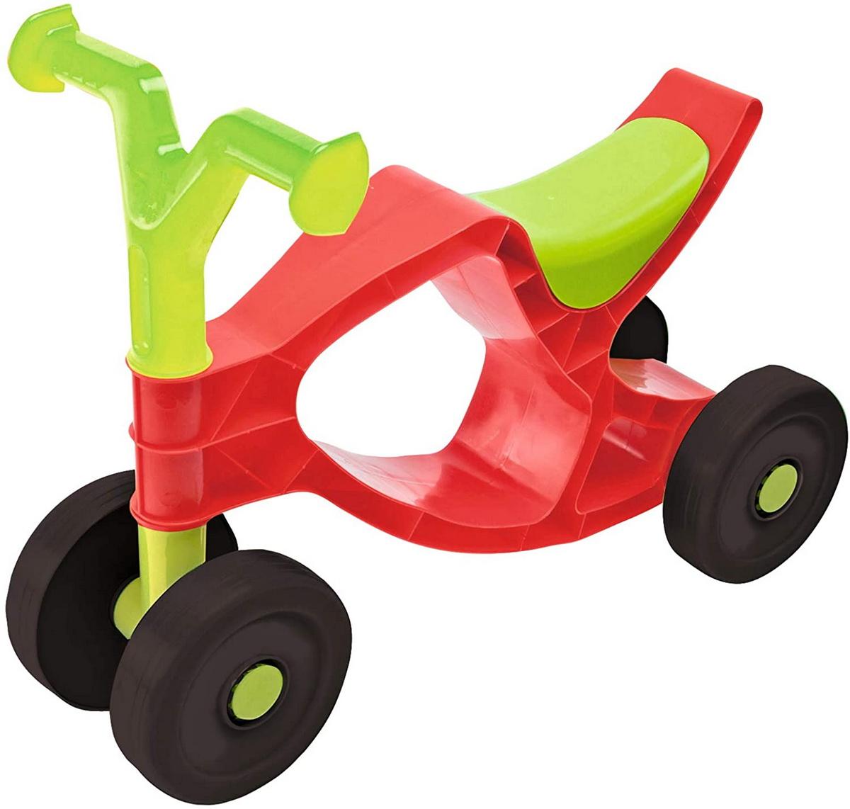 Big Bicicleta Fara Pedale Flippi Rosu Cu Verde