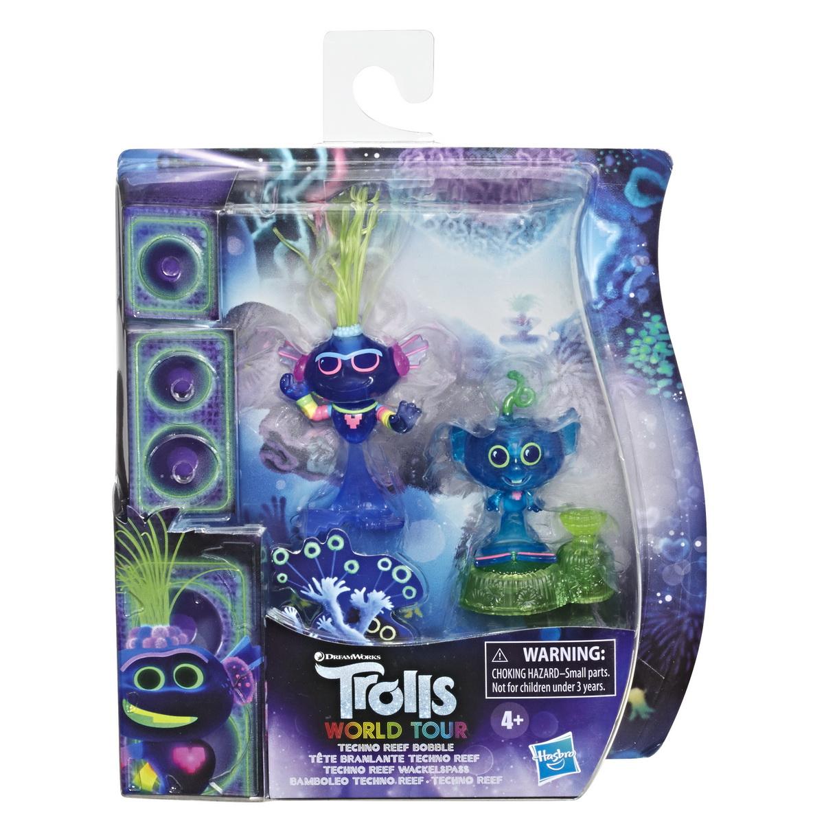 Trolls Set 2 Figurine Techno Reef Bobble