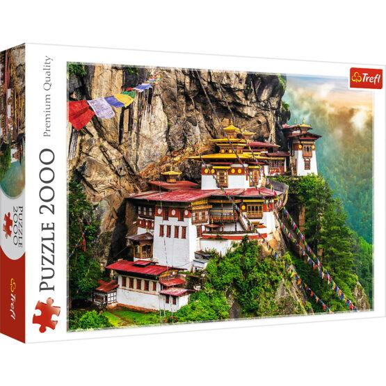 Puzzle Trefl 2000 Cuibul Tigrului Bhutan