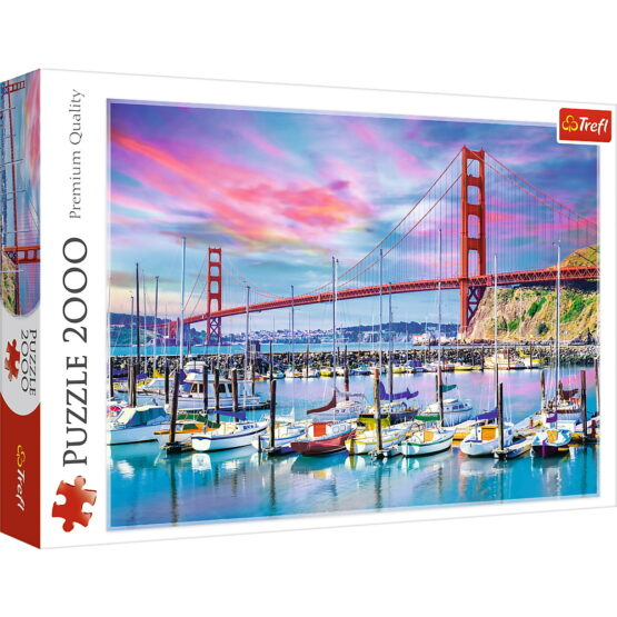 Puzzle Trefl 2000 Golden Gate San Francisco