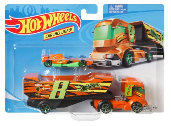 Set Camion Si Masina Sport Big Rig Heat