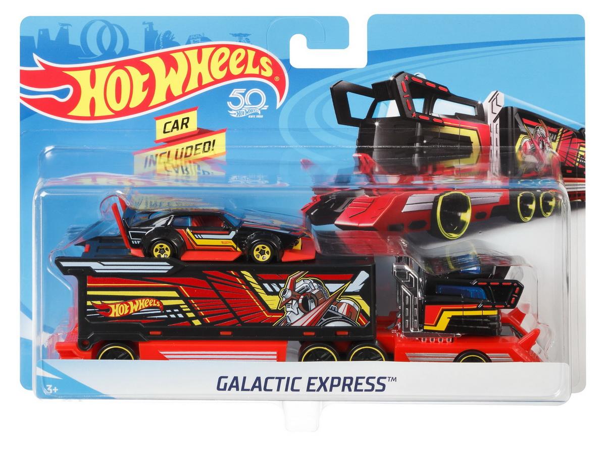 Set Camion Si Masina Sport Galactic Express