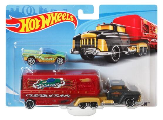 Set Camion Si Masina Sport Crusing Ilussion