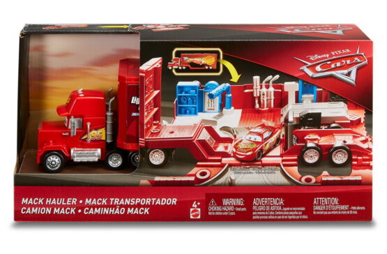 Cars Set De Joaca Mack Mega Transportatorul Lui Fulger Mcqueen