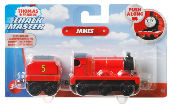 Thomas Locomotiva Cu Vagon Push Along James