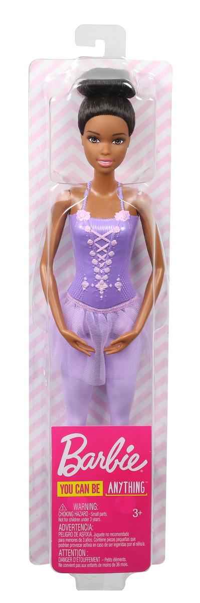 Papusa Barbie Balerina Creola Cu Costum Lila