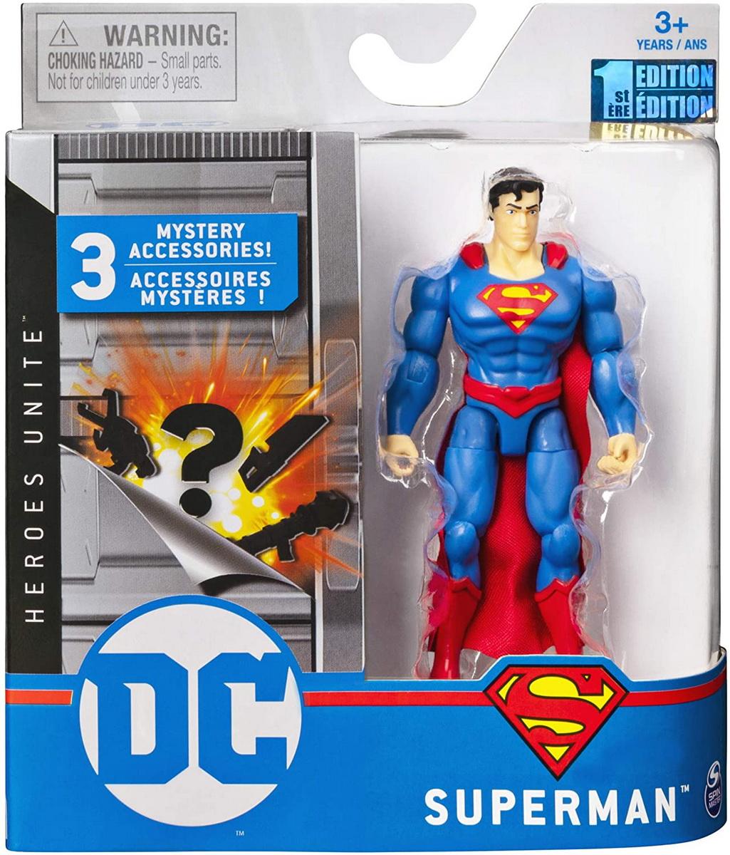 Figurina Superman 10cm Cu Accesorii Surpriza
