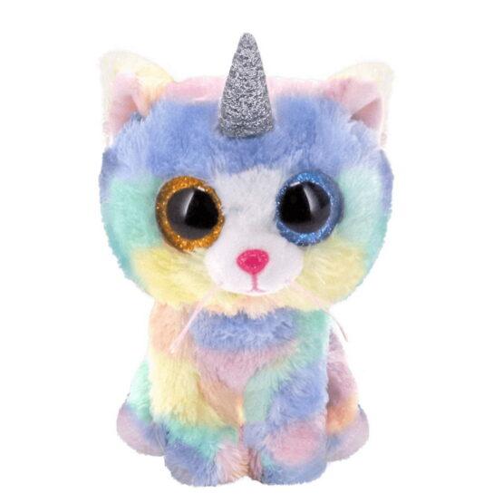 Plus Ty 24cm Boos Pisica Unicorn