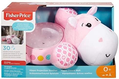 Fisher Price Proiector Hipopotam Roz