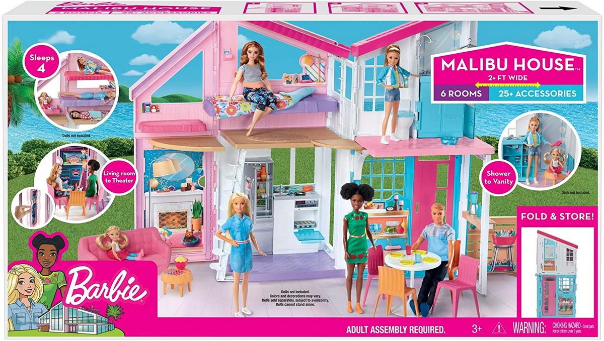 Papusa Barbie Casa Malibu