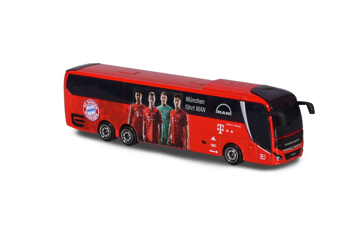 Autocarul Man Al Echipei Fc Bayern
