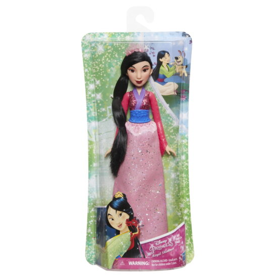 Papusa Printesa Stralucitoare Mulan