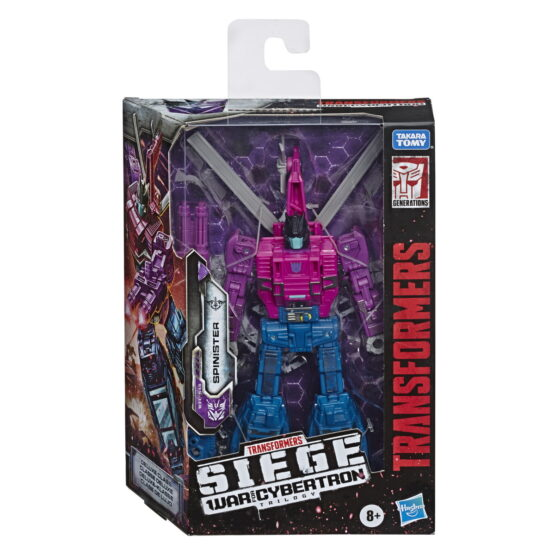 Transformers Robot Deluxe Decepticon Sinister
